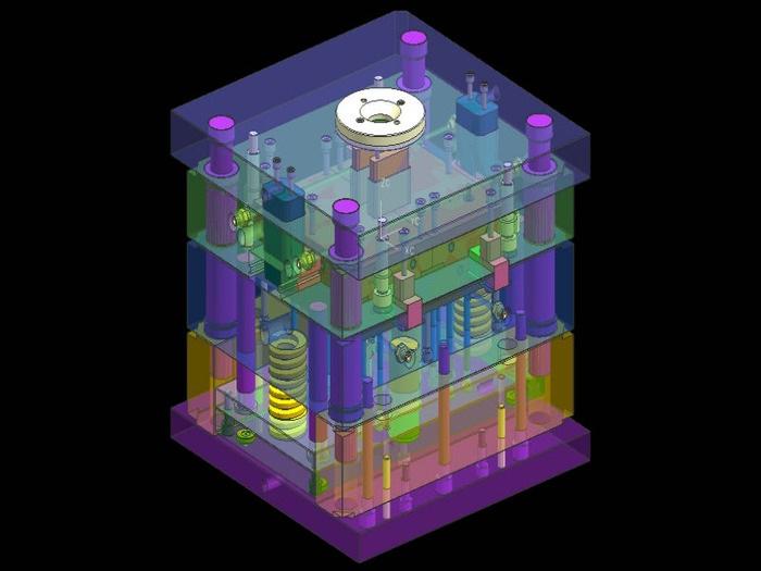 Пресс-форма в 3D