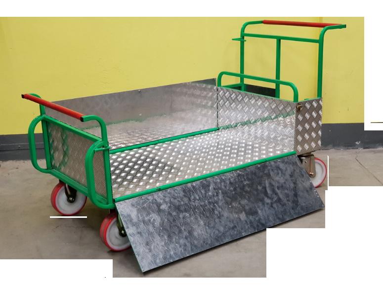 Тележка транспортная ЖКХ УТМ-120