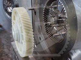 Пресс-форма - шестерня деталь для автопрома