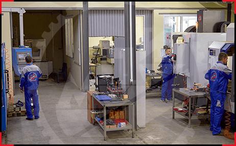 Инструментально производство завода МПИ