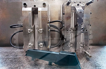 Пресс-форма для литья полиамидной крышки| МПИ