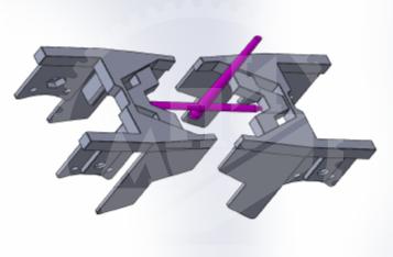3D модель отливки из полиамида |заглушка